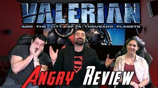 Video Valerian and the City of a Thousand Planets Angry Movie Review MP3, 3GP, MP4, WEBM, AVI, FLV September 2018