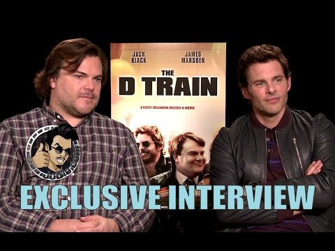 Jack Black & James Marsden Interview - The D Train (2015) JoBlo.com Exclusive HD