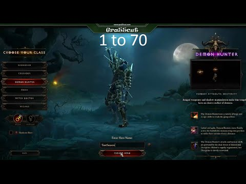 D3 ROS 2.1 Season Power Leveling 1 to 70 Fast
