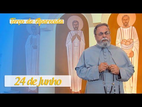 Terço de Aparecida com Pe. Antonio Maria – 24 de Junho de 2020