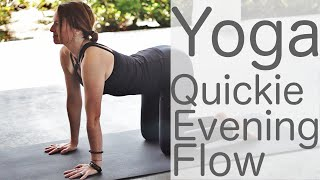 Video 10 Minute Yoga Quickie Evening Flow With Fightmaster Yoga MP3, 3GP, MP4, WEBM, AVI, FLV Maret 2018