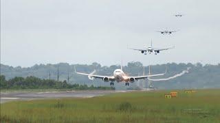 Video Landing Batik Air, Sriwijaya Air, Garuda Indonesia, Lion Air dan NAM Air di Bandara DEO Sorong Papua MP3, 3GP, MP4, WEBM, AVI, FLV Februari 2019