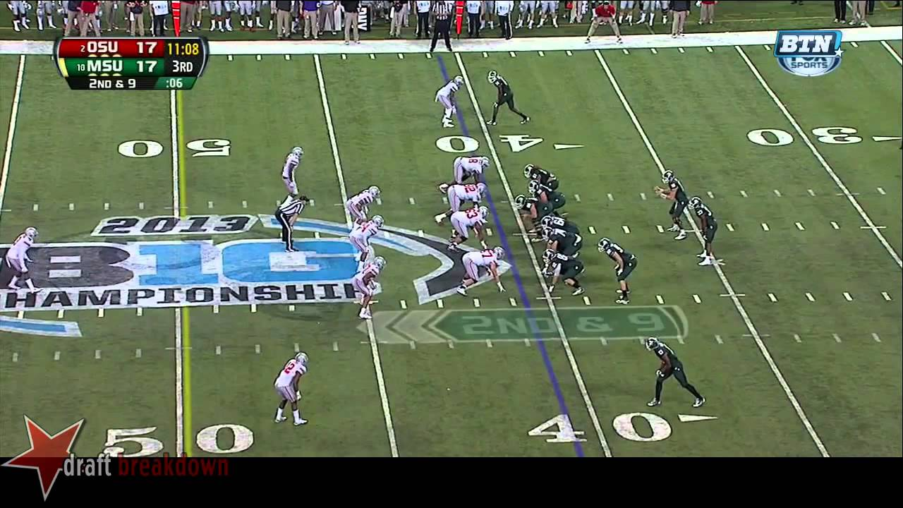 Jeremy Langford vs Ohio State (2013)