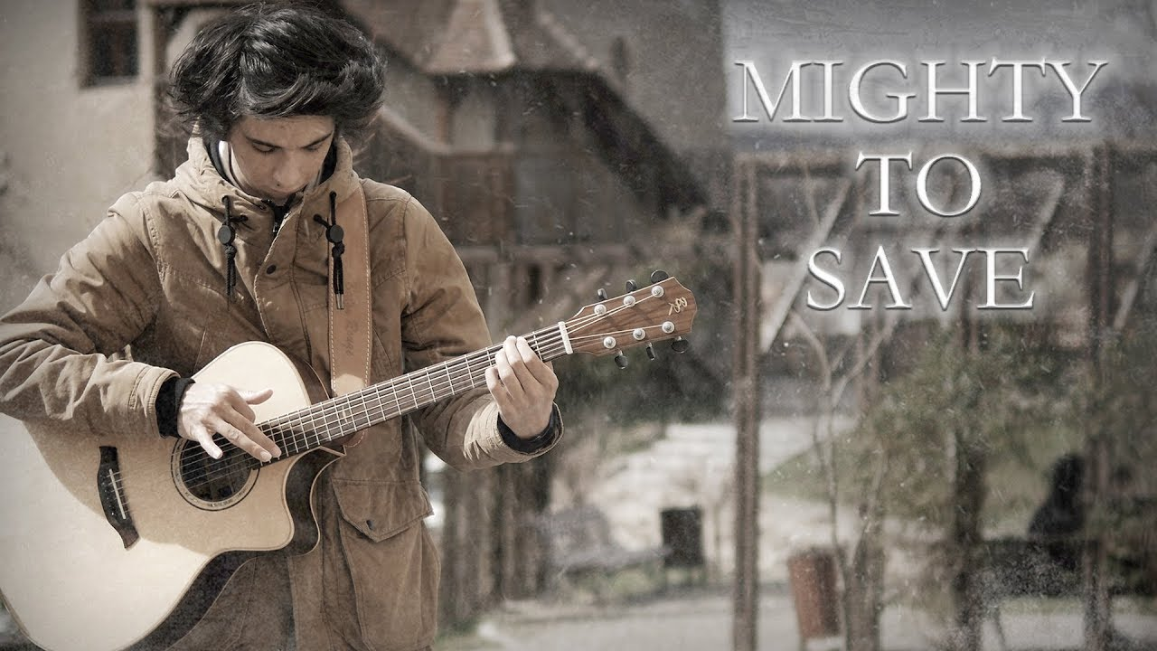 Mighty To Save – Hillsong Worship (Fingerstyle Guitar Cover by Albert Gyorfi) [+TABS]