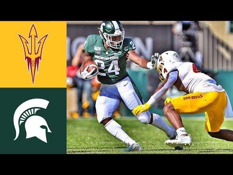 Arizona State vs Michigan State Highlights | NACCF Week 3 | College Football (2019)