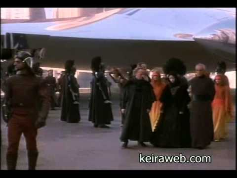 Keira Knightley - Star Wars Phantom Menace scenes compilation