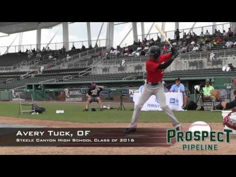 Avery Tuck Prospect Video, OF, Steele Canyon High School