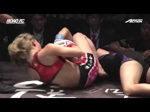 2ND -45KG CATCHWEIGHT MATCH SATOKO SHINASHI 2R TKO