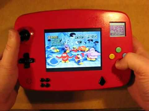 Dream Casted as a Portable Gaming Device
