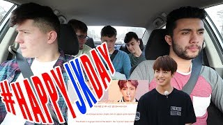 Video NON KPOP FANS REACT TO BTS JUNGKOOK - EUPHORIA +LIVE PERFORMANCE | Car ride edition | #happyjkday MP3, 3GP, MP4, WEBM, AVI, FLV Januari 2019
