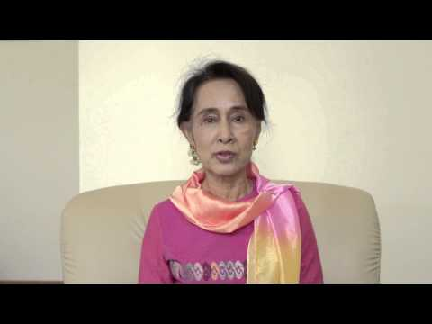 Aung San Suu Kyi's message on World Day Against Child Labour