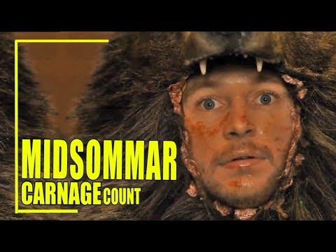 Midsommar (2019) Carnage Count