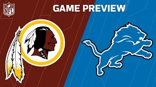 Redskins vs. Lions (Week 7 Preview) | Around the NFL Podcast | NFL by NFL
