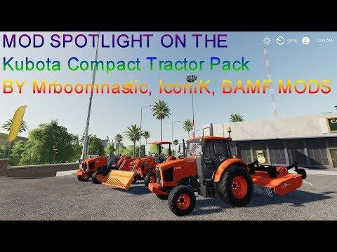 Kubota Compact Tractor Pack v1.0