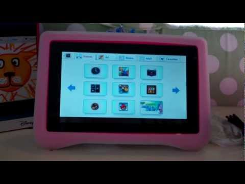Kid Friendly Ematic FunTab Pro Tablet [Red Ferret Review]