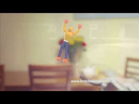 Britelite Window Crawler TV Ad