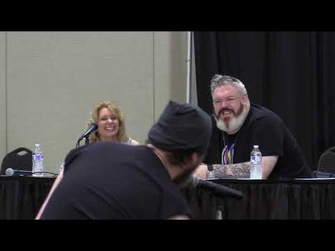 'Game of Thrones' star Kristian Nairn at Motor City Comic Con 2019