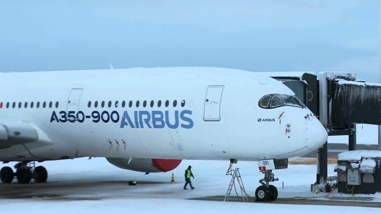 Airbus A350 ei p&auml;&auml;ssyt koelennoille<br /> aamulla Rovaniemell&auml; - Osia Ranskasta!