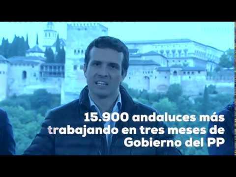 El empleo mejora en Andalucía con el Partido Popular