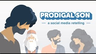 Can the spoiled kid who made off with half of his father's money ever find redemption? In this parable by Jesus--presented social media style--the answer is