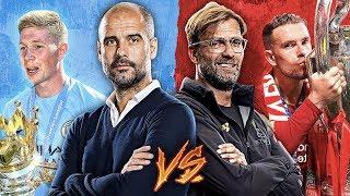 Pep Guardiola's Centurions vs Jurgen Klopp's UCL Winners Combined XI by Football Daily