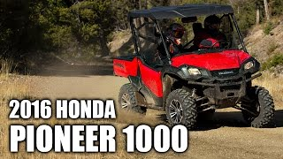 7. 2016 Honda Pioneer 1000 Review