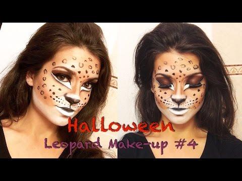 Halloween - Leopard Make-Up #4 ! | ByLaurine