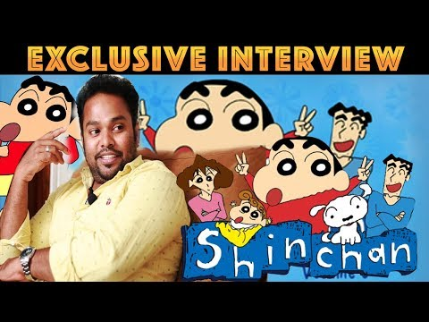 Shinchan Amaithi Amaithi Live Performance | Raghuvaran Exclusive Interview | Shinchan Real life