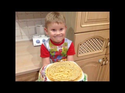 , title : 'Простые детские рецепты - блины! Дети готовят!'
