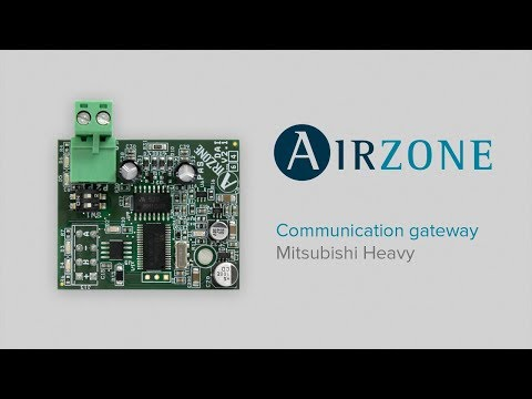 How to install Mitsubishi Heavy communication gateway