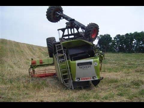 ※ EXCLUSIF ※ compilation accident de tracteur 2013 HD