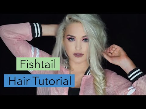 How to Fishtail Braid Tutorial | Easy Fishtail Braids FoxyLocks Extensions
