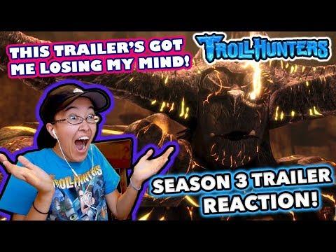 THAT REVEAL THOUGH! | Trollhunters Season 3 TRAILER REACTION!