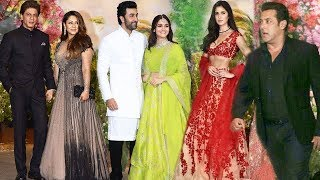 Video Bollywood Stars At Sonam Kapoor's Wedding Party FULL VIDEO Salman, Shahrukh, Katrina, Varun, Ranbir MP3, 3GP, MP4, WEBM, AVI, FLV Mei 2018