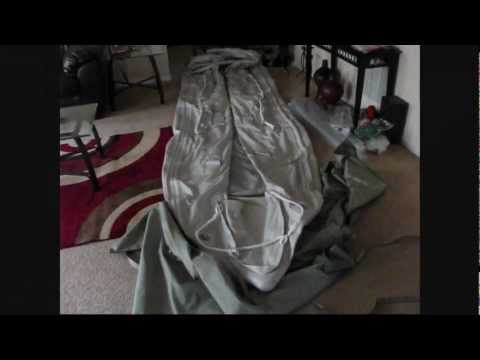 Removing  16ft SATURN KaBoat SK487XL from carry bag