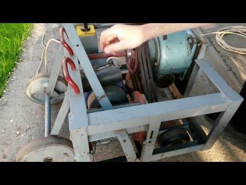Как сделать электро лебедку видео
