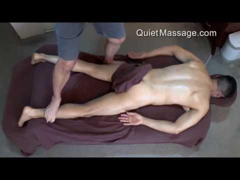 Ashiatsu Massage - Deep Tissue with Male Model (видео)