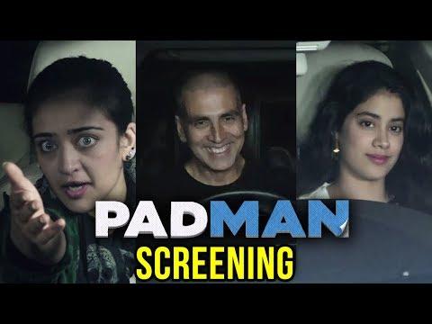 Akshay Kumar Twinkle Khanna HOST Padman Screening
