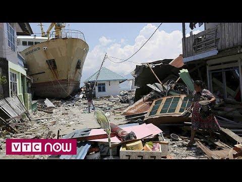 Indonesia tiếp tục bị động đất sau thảm họa kép - Thời lượng: 35 giây.