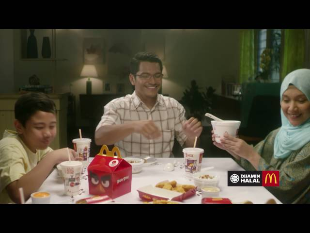 Family Angry Birds Campaign