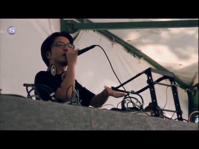 "PUNPEE & His Friends - Pe(Beat jack on ""Be"")~Renaissance @ りんご音楽祭2015"
