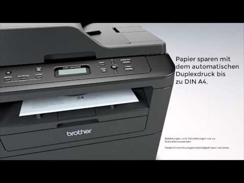 Brother All in One Drucker DCP-L2540DN mit Duplex | Produktvideo