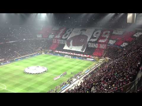 Inno Champions League San Siro Milan - Barcellona 2-0 (20.02.2013)