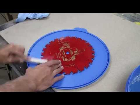How to Clean Your Saw Blades and Router Bits