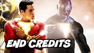Shazam Black Adam End Credit Deleted Scene - Black Adam Teaser Breakdown