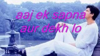 KAL HO NAA HO - Heartbeat sad (shahrukh khan)