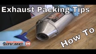 10. How To Repack A Motorcycle/ATV Silencer | Exhaust Packing