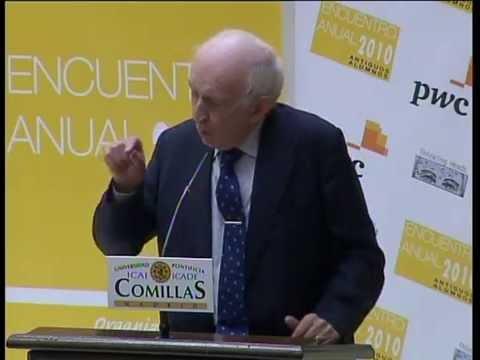 Leopoldo Abadía diserta sobre los orígenes de la crisis en el encuentro anual de antiguos alumnos de ICAI-ICADE 2010.