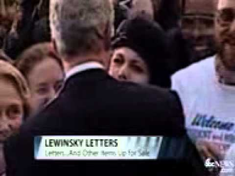Monica Lewinsky's Negligee Being Auctioned Online