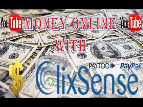 Work from home with Clixsense Ptc + Best (Payment Proofs) 2015 – 2016 paypal